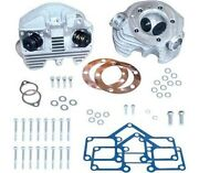 Super Stock Cylinder Heads O-ring Intake Sands Cycle Natural Finish 90-1491