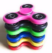Lot 40x Hand Spinner Tri Fidget Toy Edc Finger Gyro Fast Shipping Within Usa