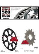 520h Heavy-duty Chainfront And Rear Sprocket Kit Kaw Ksf250a Mojave 1988-2004