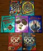 Guinness World Record/ripleyand039s Believe It Or Not Books Hardcover Brand New