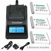 Nb-6l Batteryand Charger For Canon Powershot S120, Sd770 Is, Sd980 Is, Sd1200 Is