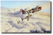Zemkeand039s Wolfpack By Robert Taylor - Signed By 4 57th Fg Pilots - Aviation Art