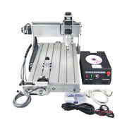 Cnc 3040 Z-dq 4 Axis Wood Milling Machine Pcb Engraving Router With Ball Screw
