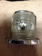 Vintage Bow Boat Light Rechromed May 17and039