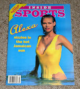Inside Sports Annual Swimsuit Issue March 1993 Alexa Cover Girl With Poster Nl