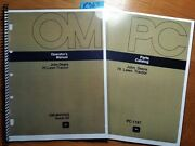 John Deere 70 Lawn Tractor S/n 50001-56000 Owner Operator Manual And03972 + Parts And03973