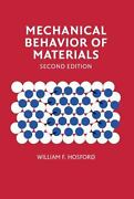 Mechanical Behavior Of Materials By Hosford William F.