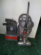 Kirby Sentria G10d Gray Upright Vacuum Cleaner Used Twice With Carpet Cleaner