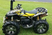 Can Am Renegade 800 1000 R X Graphics Sticker Kit Full Coverage 3500 Yellow