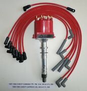 Chevy Camaro 5.0l/305 5.7l/350 1987-93 Efi/tpi/tbi Distributor And Red Plug Wires