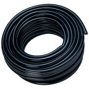Puet12/080n-25 12mm Od X 8mm Id Poly Hose Ether Black Kelm Pu Tube And Recoil Ho