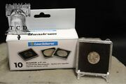 10 Seated And Barber Dime Coin Holder Snap Capsule 18mm Quadrum 2x2 Storage Case