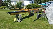 Wood Clc Kit Kayak 18and039 With Sail Kit Addon 2200. With Sail And Extras...