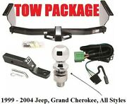 Complete Trailer Hitch Tow Package - Fast Shipping Easy