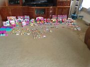 Shopkins Mixed Seasons 1-6 New/used Playsets And Dolls Lot