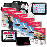 Gleim Deluxe Private Pilot Kit - Ppl Online Ground School Included