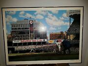 Roger Maris 61st Limited Edition Ten/one/sixty-one Bill Purdom Lithograph
