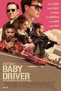 Baby Driver Poster [licensed-new-usa] 27x40 Theater Size Kevin Spacey 2017