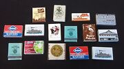 Lot Of 15 Collectible Matchbooks Rod's Ceasars Palace Las Vegas Age Unknown