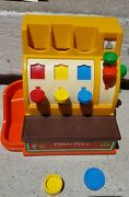 Fisher Price Vintage Old Toy 1974 Toys Play Cash Register