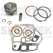 Piston And Gasket Set For Yanmar Diesel Engine And Generator L100 186f 10hp