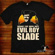 Evil Roy Slade T-shirt Great For Gifting W/ Blu Ray Or Dvd Sizes S-6xl