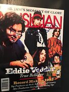 Pearl Jam Signed Magazine By All 5 Coa + Proof Eddie Vedder Autographed 1993