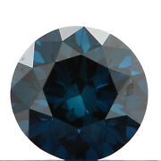 3.00 Cts Round Cut Natural Diamonds Blue Black Yellow Green Color