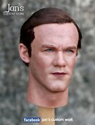 1/6 Custom Hot Figure Rooney Manchester United Head Sculpt Toys Enterbay Zcwo Dx
