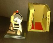 Vintage Linemar Steam Engine Accessory Item J-9058 Grinding Stone With Box