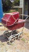 1950 Vintage Babyhood Baby Carriage Buggy Stroller By Wonda-chair