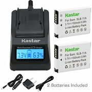 Slb-11a Batter And Fast Charger For Samsung St5000 St1000 Hz50w Hz35w Hz30w Wb1000