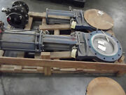 Dezurik 14 Knife Gate Valve Stainless Steel With Air Actuator New Unused