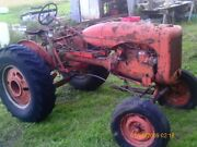 Allis Chalmers B Tractor W/ Hydraulics And Twin Brake Handles For Track Kit