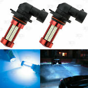 2pc For Ford F150 2002 - 2016 Fog Lights Cold Ice Blue 106smd Led Bulbs H10 9145