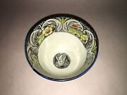 Historical Staffordshire Seal Of The Us Polychrome Salopian Cup Ca. 1825