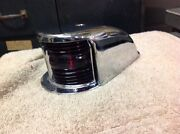 Vintage Boat Bow Light C- 501 Rechromed May 16and039