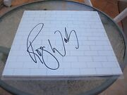 Roger Waters Signed The Wall Lp Record Vinyl Cover Jsa Loa
