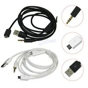 3.5mm Car Aux Audio Micro Usb Cable For Samsung Galaxy S3 S2 Note Htc Sony Nu4