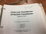 Ab Dick Dpm 2000 Platemaker Operators Guide, Dongle Key And Computer Stylus