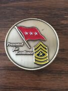 Ltg Peter Vangjel Inspector General Ig Of The Us Army 2011-2014 Challenge Coin