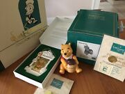 2 Wdcc Disney Lot Winnie The Pooh Time For Something Sweet + Pooh Ornament