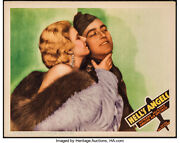 Movie Poster Helland039s Angels Lobby Card 1930 1937 11x14 Vf 8.0 Jean Harlow