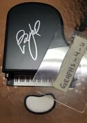Billy Joel Signed Piano Man Autograph Coa Wrigley Field Chicago Cubs
