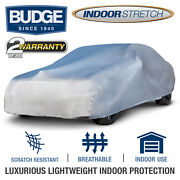 Budge Soft Stretch Car Cover Indoor Fits Cars Up To 19and039 Long | Uv Protect