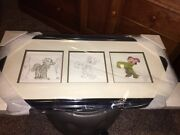Dopey Disney Fine Art Framed Collectible By Frank Thomas Let Me See Your Hands