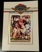 1993 Steve Young Stadium Club Members Only Master Photo San Francisco 49ers