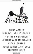 Kirby Avalir Upright Vacuum Used Once Includes Everything Pictured