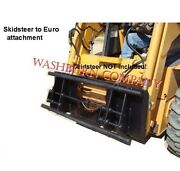 Skid Steer To Euro Global Or Alo Adapter