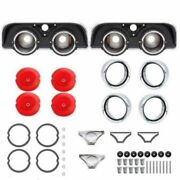 47-piece Tail Lamp Set For 1968 Charger